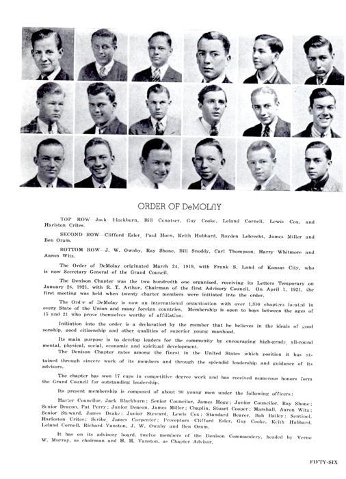 foto do yearbook e breve história do capítulo