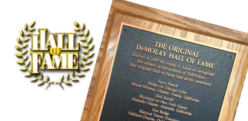 O Hall da Fama Original da Ordem DeMolay