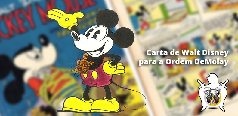 O Capítulo Mickey Mouse da Ordem DeMolay