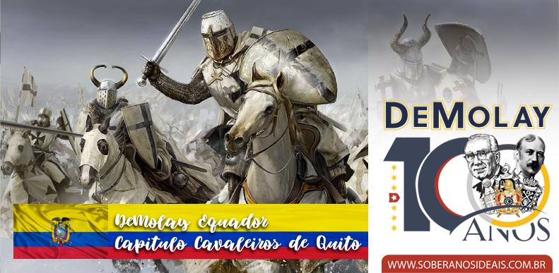 DeMolay Internacional chega ao Equador e mais!