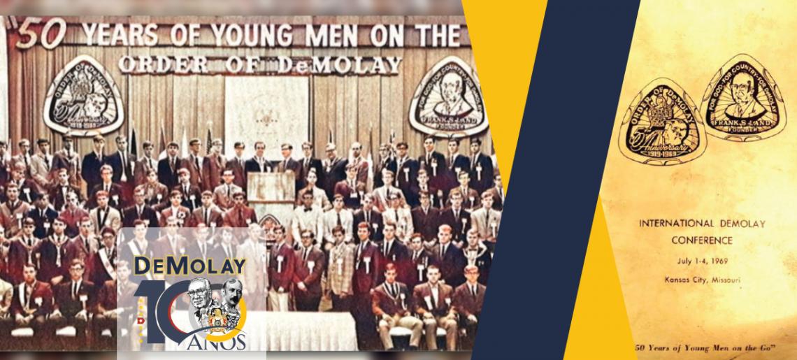 O Aniversário de 50 anos da Ordem DeMolay